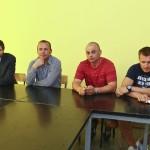 Jerzy Engel jr, Igor Gołaszewski, Jacek Kosmalski, Wojciech Szymanek